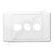 Clipsal Compatible Wall Plate - WP-3
