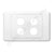 Gang Wall Plate - WP-3