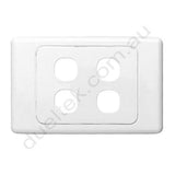 Clipsal Compatible Wall Plate - WP-4