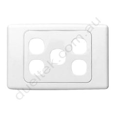 Clipsal Compatible Wall Plate - WP-5