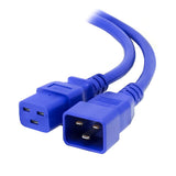 Blue C19-C20 15A Enterprise Class Extension Cord