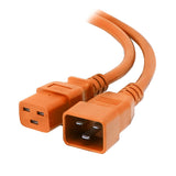 Orange C19-C20 15A Enterprise Class Extension Cord
