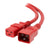 Red C19-C20 15A Enterprise Class Extension Cord