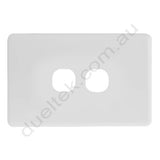 Clipsal Compatible Wall Plate - WPC-2