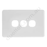 Clipsal Compatible Wall Plate - WPC-3