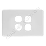 Clipsal Compatible Wall Plate - WPC-4