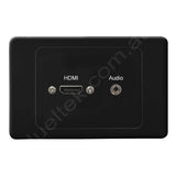 Clipsal HDMI Audio Wall Plate