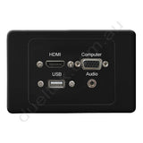 Clipsal AV Wall Plate HDMI VGA Audio USB
