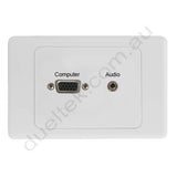 Clipsal AV Wall Plate VGA Audio