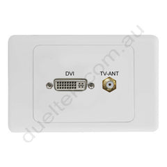 Clipsal AV Wall Plate with DVI F-Type