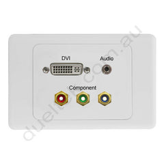 Clipsal AV Wall Plate with DVI Audio Component