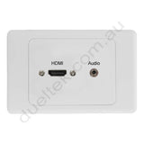 Clipsal AV Wall Plate HDMI Audio