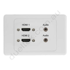 Clipsal AV Wall Plate with HDMI Audio
