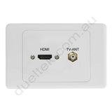 Clipsal AV Wall Plate HDMI F-Type