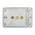 Clipsal Custom Wall Plate C2W301