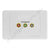 Clipsal AV Wall Plate with Component RGB