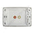 Clipsal AV Wall Plate with Audio