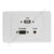 Clipsal 2000 Wall Plate VGA Audio USB