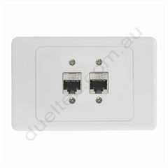 Clipsal Wall Plate CAT6 Female to Punchdown