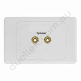 Clipsal AV Wall Plate Left Right Speaker