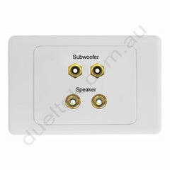Clipsal AV Wall Plate Speaker Subwoofer