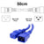 50cm Blue C19-C20 15A Enterprise Class Extension Cord