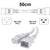 50cm White C19-C20 15A Enterprise Class Extension Cord CAB27-005-WHI