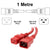 1M Red C19-C20 15A Enterprise Class Extension Cord CAB27-010-RED