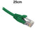 25cm Green CAT6 RJ45 UTP Patch Lead Dueltek CAT6-0.25-GRN