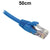 50cm Blue CAT6 RJ45 UTP Patch Lead Dueltek CAT6-0.5-BLU
