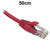 50cm Red CAT6 RJ45 UTP Patch Lead Dueltek CAT6-0.5-RED