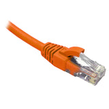 Orange CAT6 RJ45 UTP Patch Lead Dueltek