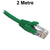 2M Green CAT6 RJ45 UTP Patch Lead Dueltek CAT6-02-GRN