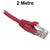 2M Red CAT6 RJ45 UTP Patch Lead Dueltek CAT6-02-RED