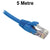5M Blue CAT6 RJ45 UTP Patch Lead Dueltek CAT6-05-BLU