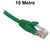 10M Green CAT6 RJ45 UTP Patch Lead Dueltek CAT6-10-GRN