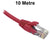 10M Red CAT6 RJ45 UTP Patch Lead Dueltek CAT6-10-RED