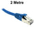 2M Blue CAT6A S/FTP RJ45 Patch Lead Dueltek CAT6A-02-BL