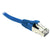 Blue CAT6A S/FTP RJ45 Patch Lead Dueltek