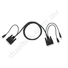 DVI KVM Combo Cable Cyberview