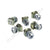 Set of Silver Captive Cage Nuts CN20