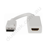 DisplayPort to HDMI Adaptor Lead