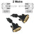 1.8M DVI-D Dual Link Monitor Lead DVI-DL-MM2-S