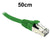 Green CAT6A S/FTP Patch Lead