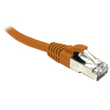 Orange CAT6A S/FTP Patch Lead