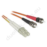 LC-ST OM1 Duplex Patch Lead