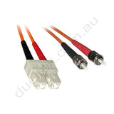ST-SC OM1 Duplex Patch Lead