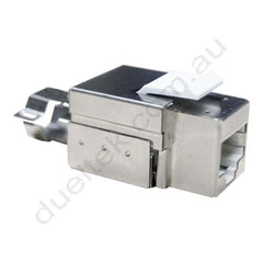 CAT6A Shielded Keystone Jack Connector