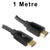 1M HDMI 2.0 / 2.1 4K UHD High Speed with Ethernet Cable HD24K-010 Dueltek