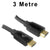 3M HDMI 2.0 / 2.1 4K UHD High Speed with Ethernet Cable HD24K-030 Dueltek